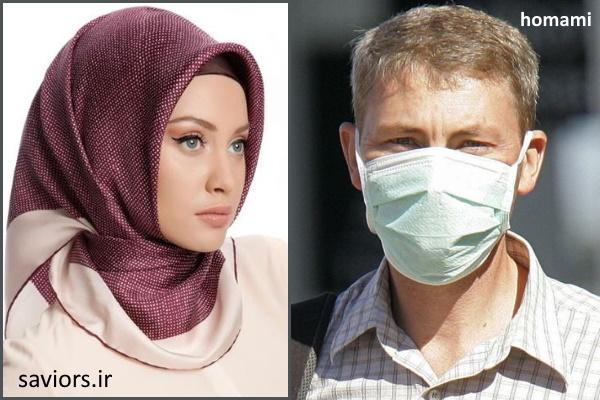 مقایسه اجبار ماسک زدن و حجاب