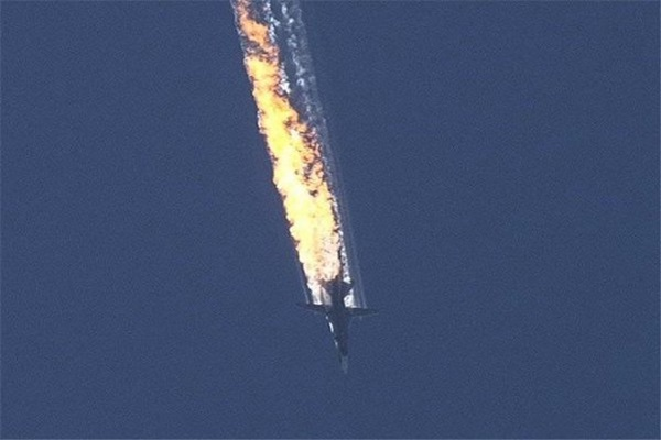 Turkey downs Russian warplane in Syria for benefits of America.