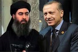 Erdogan said that he had informed Belgium about the terrorist who carried out the operations in Brussels , while tens thousands of American ISIS pass from Turkey to Iraq and Syria!!
