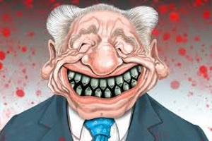 Died and gone to hell Shimon Peres, born of Satan.