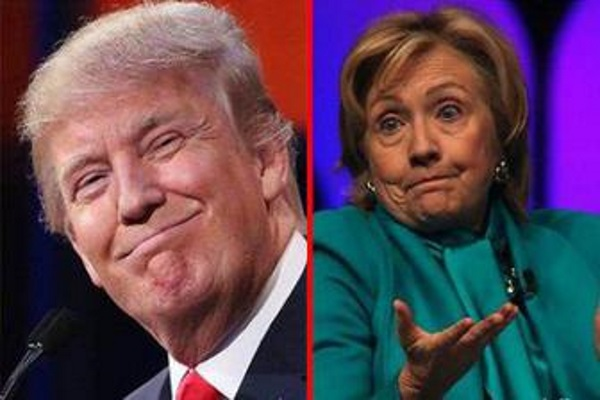 Hillary Clinton and Donald Trump, visible competitors, but in the fact, they are employee and employer.